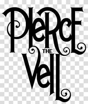 Pierce The Veil Logo Collide with the Sky Sleeping With Sirens, veil PNG