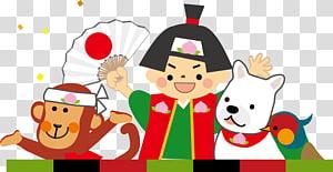 Momotarō Japan Peach Oni Wednesday Campanella, 123 kids PNG clipart