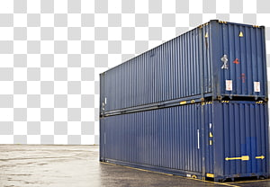 Intermodal container Cargo Transport Shipping container, Container Truck PNG clipart