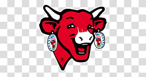 Cattle The Laughing Cow Logo, cow PNG