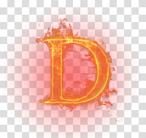 burning letter d illustration, Flame Light Fire Letter English alphabet, Flame letter PNG
