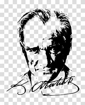 Atatürk Silüeti Silhouette Atatürk, Atatürk Turkey, Silhouette PNG