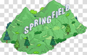 The Simpsons: Tapped Out The Simpsons: Hit & Run The Simpsons Game Springfield Lisa Simpson, hollywood sign PNG