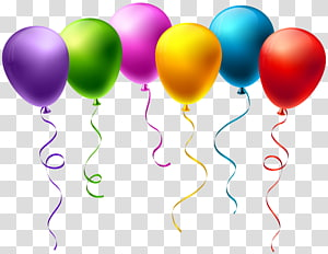 Hot air balloon Birthday , balloon PNG