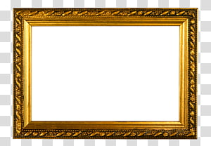 rectangular golf frame , frame Gold frame , Golden frame wall mount PNG clipart
