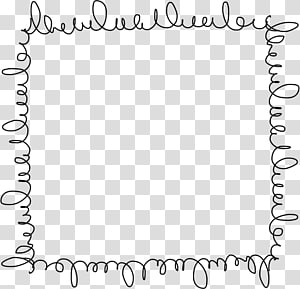 Graphic Frames Cuadro Doodle , others PNG