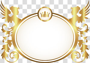 golden circle PNG clipart