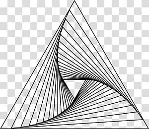 Pursuit curve Line Triangle Parabola, triangle PNG