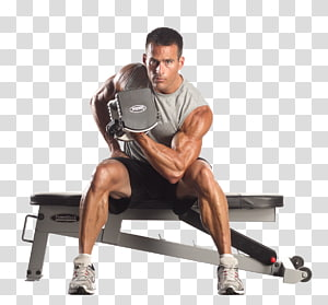 Bench Dumbbell Exercise Weight training Powerblock Inc, dumbbell PNG