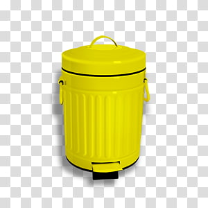 Waste container Plastic, trash can PNG