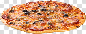 Hamburger Pizza Take-out Calzone Fast food, Pizza PNG clipart