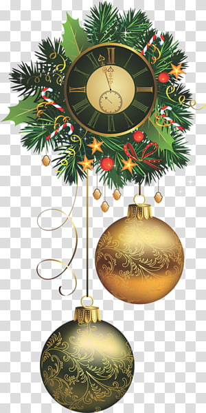 Christmas decoration Garland New Year Christmas and holiday season, christmas PNG