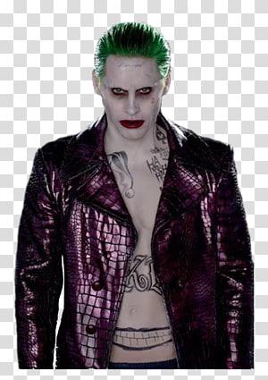 Joker Harley Quinn Suicide Squad Deadshot Jared Leto, joker PNG