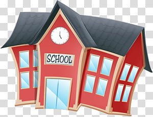 School House, cartoon school PNG clipart