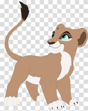 Nala Simba Zira Kiara Lion, lion PNG