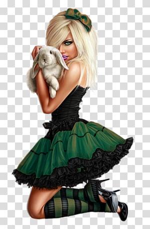 Woman Alice\'s Adventures in Wonderland, fantasy girl PNG