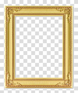 frame 123rf , Gold frame, brown wooden frame PNG clipart