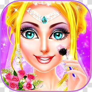 MakeUp Salon Princess Wedding, Makeup & Dress up Ice Princess, Wedding Day Android Game, android PNG