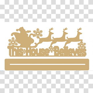 Reindeer Rectangle Sticker Font, Reindeer PNG clipart