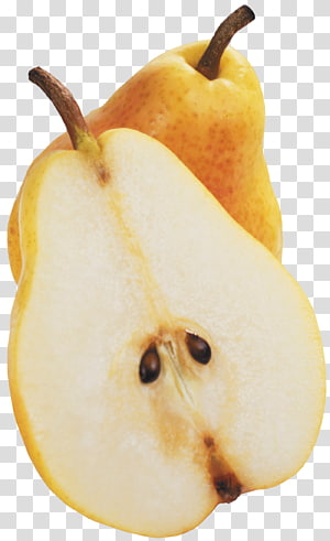 sliced pear, Pear Fruit , Pear PNG clipart