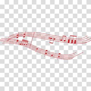 red musical symbol PNG