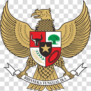 Bhinneka Tunggal Ika logo, National emblem of Indonesia Indonesian Garuda, bali indonesia PNG clipart