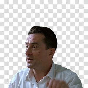 man wearing white collared shirt, Robert De Niro A Bronx Tale PNG
