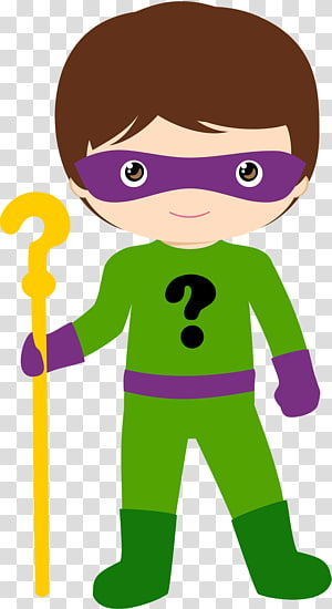 Riddler Batman Joker Batgirl , hero PNG