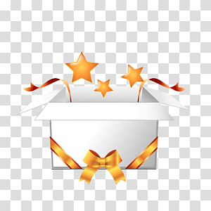 Box Gift , Open the gift box PNG clipart