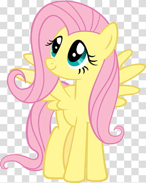 Fluttershy illustration, Fluttershy Applejack Pinkie Pie Twilight Sparkle Rainbow Dash, My Little Pony PNG clipart