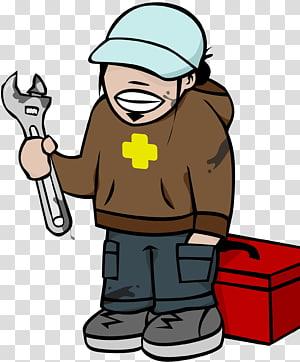 Home repair workers PNG