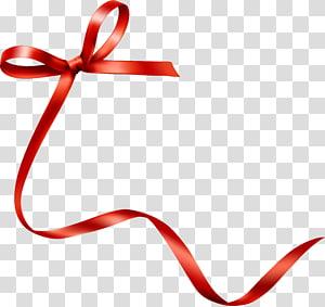 red ribbon illustration, Drawing Ribbon Hand, Hand drawn red bow tie ribbon PNG clipart