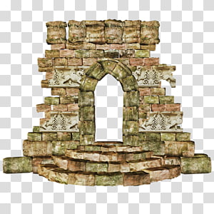 Drawing , castle gate PNG clipart