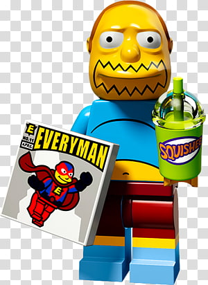 Lisa Simpson Comic Book Guy Lego Minifigures, Simpsons Comic Book Shop PNG clipart