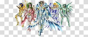 Pegasus Seiya Phoenix Ikki Athena Dragon Shiryū Leo Aiolia, Saint Seiya Brave Soldiers PNG clipart