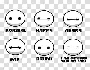 Baymax 0 Big Hero 6 Smile Emoticon, baymax PNG clipart