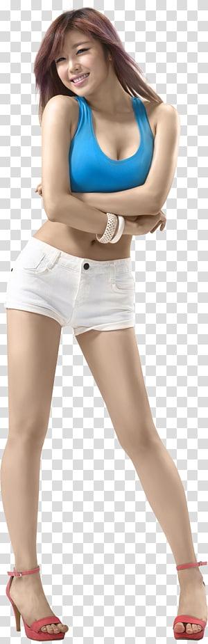 women's white skirt, Jun Hyoseong South Korea Korean idol Female K-pop, actor PNG