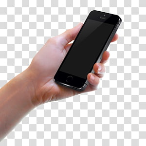 iPhone 5s Mobile device Mobile app Touch ID Android, Hold the phone PNG