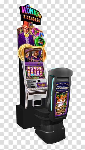 Willy Wonka Pokies Free Casino Wonka Bar Atlantic City Slot machine, Vip Party PNG clipart