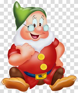 Snow White Seven Dwarfs Bashful Sneezy Dopey, Snow White PNG clipart