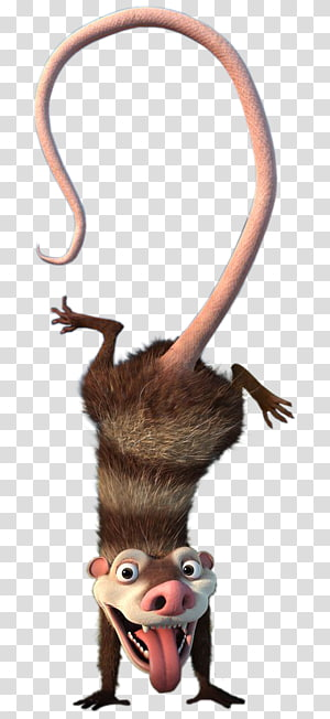 Scrat Sid Steffie Ice Age Sloth, ice age buck PNG