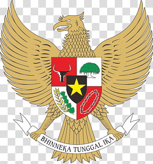 bird logo illustration, National emblem of Indonesia Coat of arms Pancasila Garuda, garuda pancasila PNG clipart