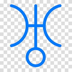 Astrological symbols Astrological sign Zodiac Astrology Aquarius, uranus PNG clipart