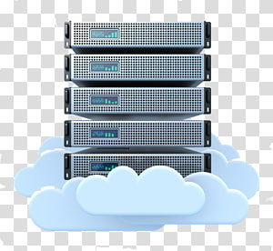 Cloud computing Computer Servers Cloud storage Web hosting service Data center, cloud computing PNG