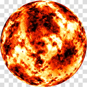 Earth Planet Solar System, burn PNG clipart