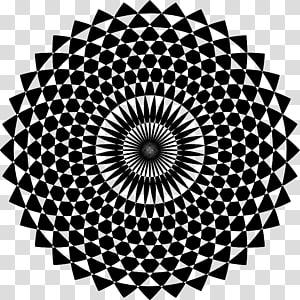 Sahasrara Chakra Muladhara Hinduism, geometric ornament PNG