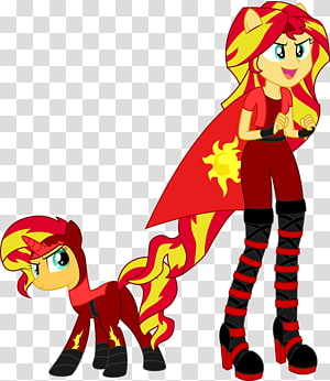 Sunset Shimmer Pony Rainbow Dash Twilight Sparkle Pinkie Pie, others PNG clipart