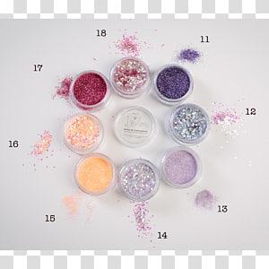 Glitter Lip balm Cosmetics Face Powder, Face PNG clipart