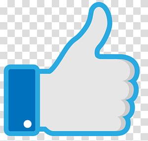 Facebook like button Thumb signal Social media, facebook PNG clipart