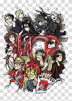 My Chemical Romance Fan art Music, romance posters PNG